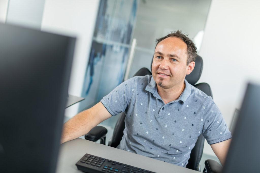 Fuchsberger Andreas, Netzwerktechniker bei TF-Systems in Tamsweg