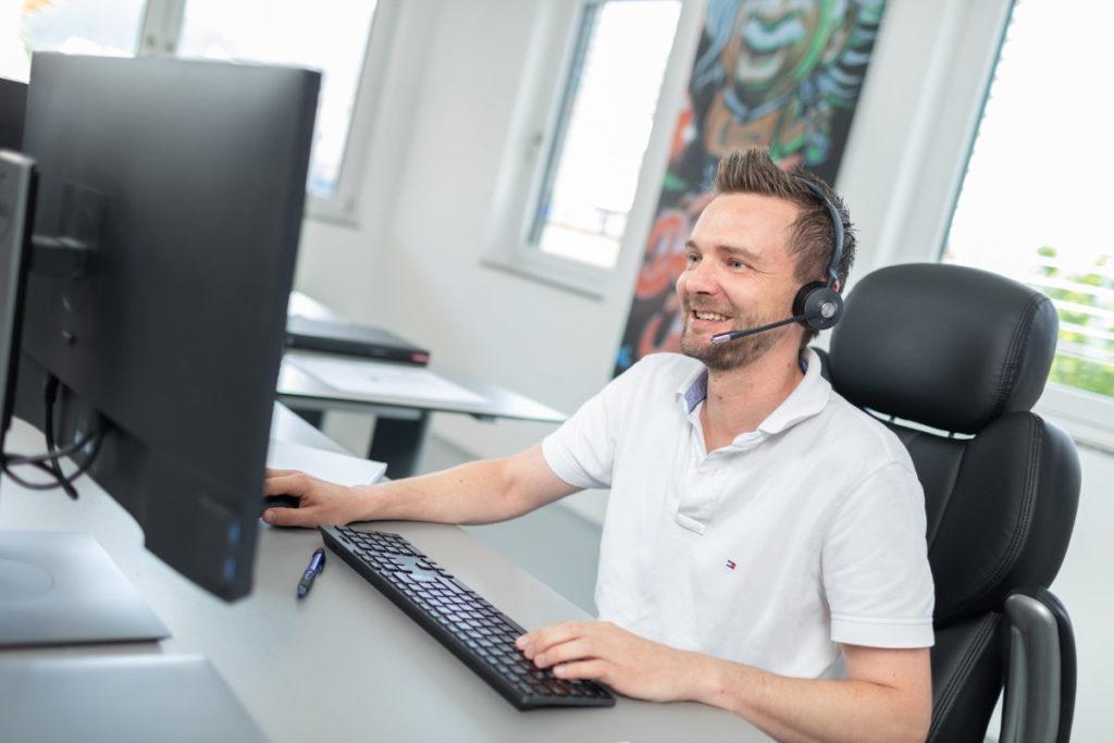 Gfrerer Christian, Netzwerktechniker bei TF-Systems in Tamsweg