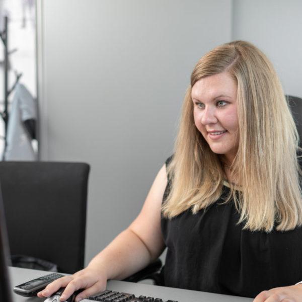 Macheiner Christina, Sekretärin bei TF-Systems in Tamsweg
