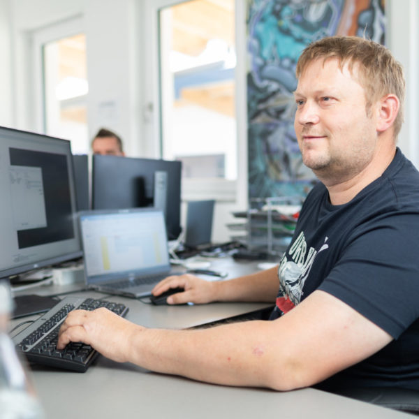 Seifter Manfred, Netzwerktechniker bei TF-Systems in Tamsweg