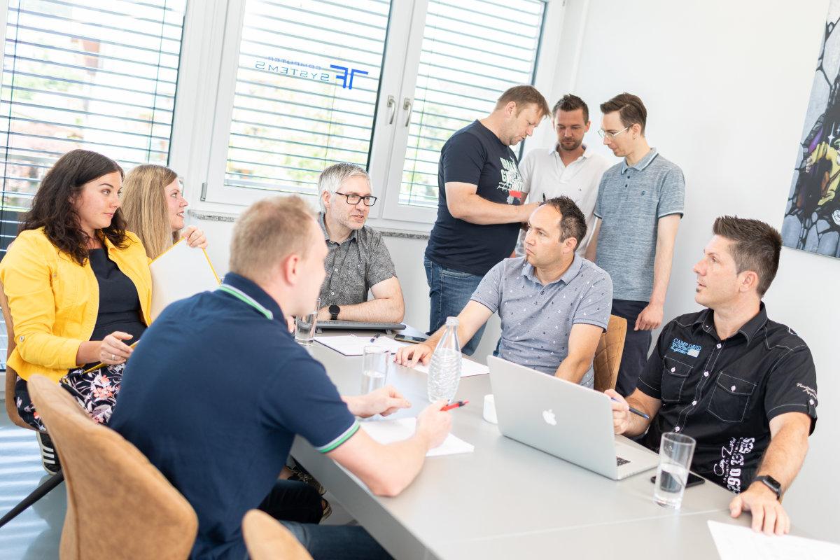 Strategen, Entwickler und Mitdenker bei TF-Systems in Tamsweg