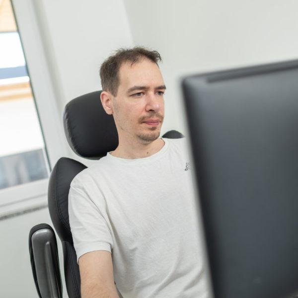 Vadasi Mark, Softwareentwickler bei TF-Systems in Tamsweg