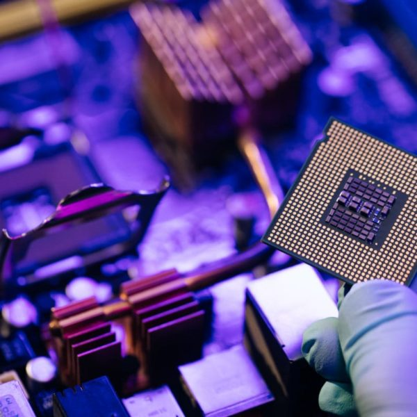 Microchip Computer Motherboard