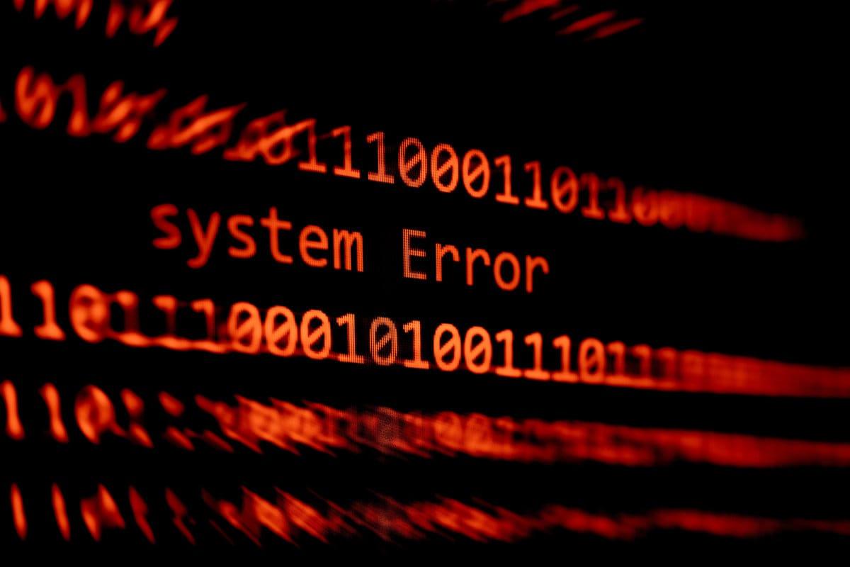 System Fehler
