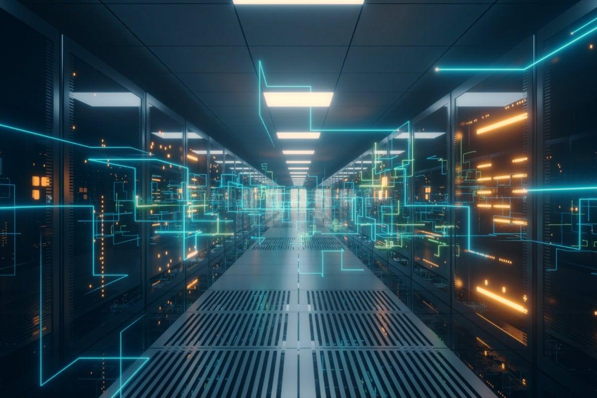 Serverraum Data Center
